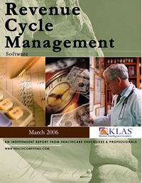Revenue Cycle Management - Software Report 2006
