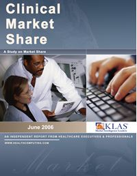 Clinical Market Share Report 2006
