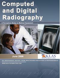 Computed and Digital Radiography (CR/DR) Perception Study 2006