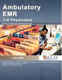 Ambulatory EMR Report 2006 (1-5 Physician Practices)