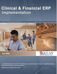 Clinical and Financial ERP Implementation