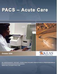 Acute Care PACS 2006