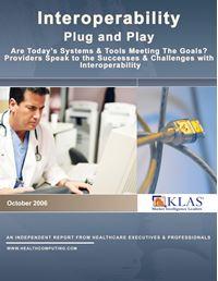 Interoperability (Plug and Play) 2006