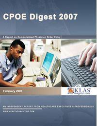 CPOE Digest 2007