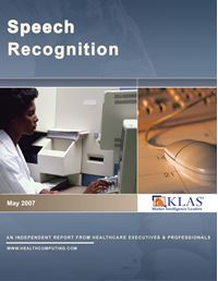 Speech Recognition 2007