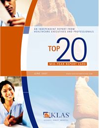 2007 Mid-Term Performance Review - Software, Professional Services, and Medical Equipment