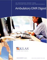 Ambulatory EMR Digest 2007