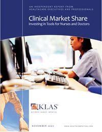 Clinical Market Share 2007