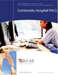 Community Hospital PACS 2007