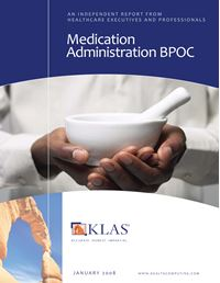 Medication Administration Barcoding at the Point Of Contact (BPOC) 2008