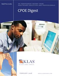 CPOE Digest 2008