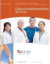Clinical Implementation Services 2008