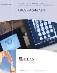 PACS - Acute Care 2008
