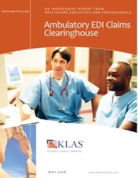 Ambulatory EDI Claims Clearinghouse