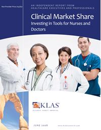 Clinical Market Share 2008