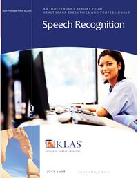 Speech Recognition 2008