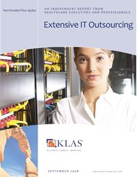 Extensive IT Outsourcing 2008