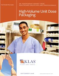 High-Volume Unit Dose Packaging 2008