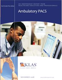 Ambulatory PACS 2008
