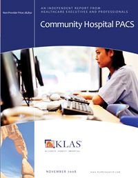Community Hospital PACS 2008