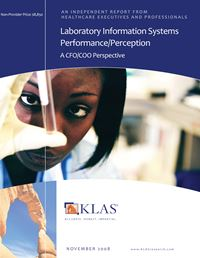 Laboratory Information Systems Performance/Perception