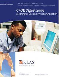 CPOE Digest 2009