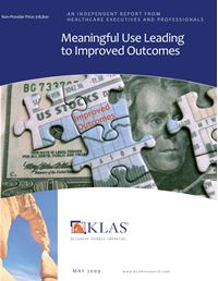 Meaningful Use Leading to Improved Outcomes
