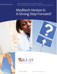 Meditech Version 6
