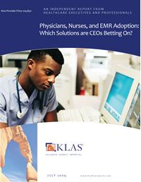 Physicians, Nurses, and EMR Adoption