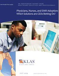 Physicians, Nurses, and EMR Adoption