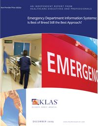 Emergency Department Information Systems