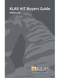 KLAS HIT Buyers Guide 2010