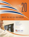 2010 Top 20 Best in KLAS Awards: Medical Equipment