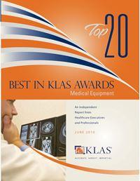 2010 Top 20 Best in KLAS Awards