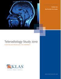 Teleradiology Study 2010