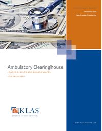 Ambulatory Clearinghouse