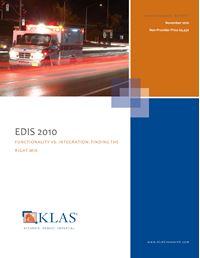 EDIS 2010 - Functionality vs. Integration