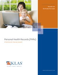 Personal Health Records (PHRs)