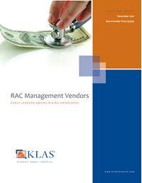 RAC Management Vendors