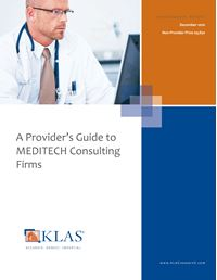 A Provider's Guide to MEDITECH Consulting Firms