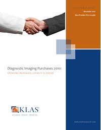 Diagnostic Imaging Purchases 2010