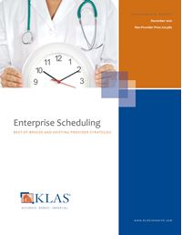 Enterprise Scheduling
