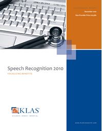 Speech Recognition 2010