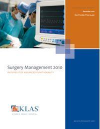 Surgery Management 2010