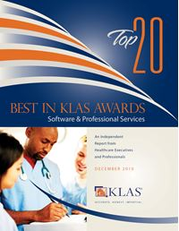 2010 Top 20 Best in KLAS Awards