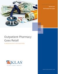 Outpatient Pharmacy Goes Retail