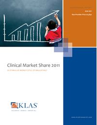Clinical Market Share 2011