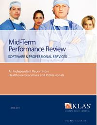 2011 Mid-Term Performance Review - Software and Professional Services