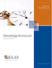 Teleradiology Services 2011