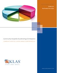 Community Hospitals Accelerating CIS Adoption